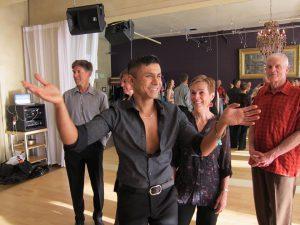 boise dance instructor tabish romario